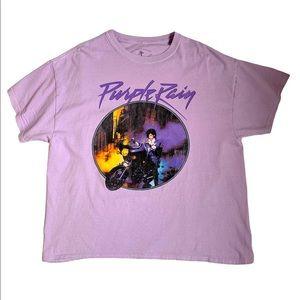 Brandy Melville Purple Rain Tee